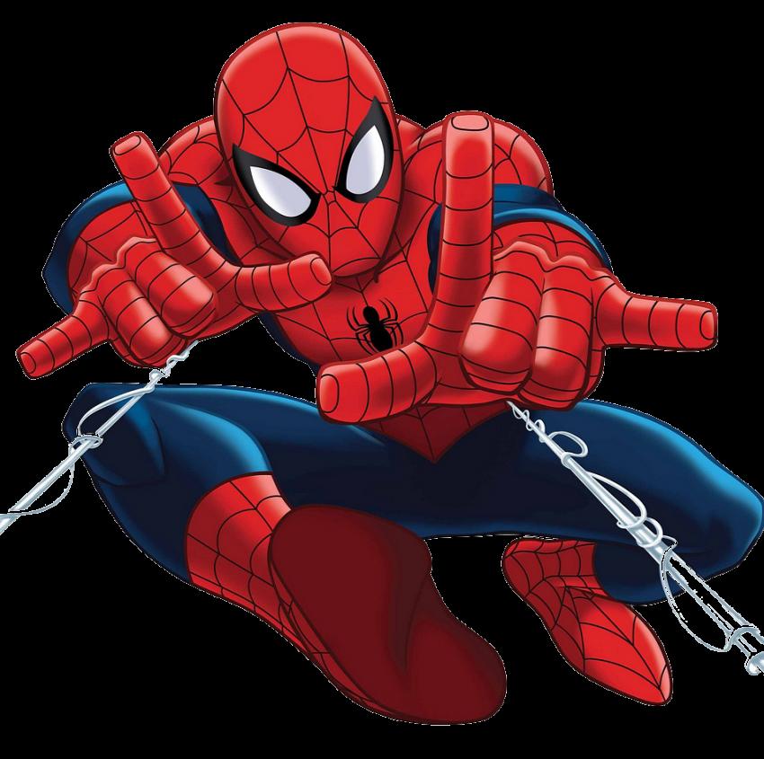 Spider-Man Body PNG Logo HD