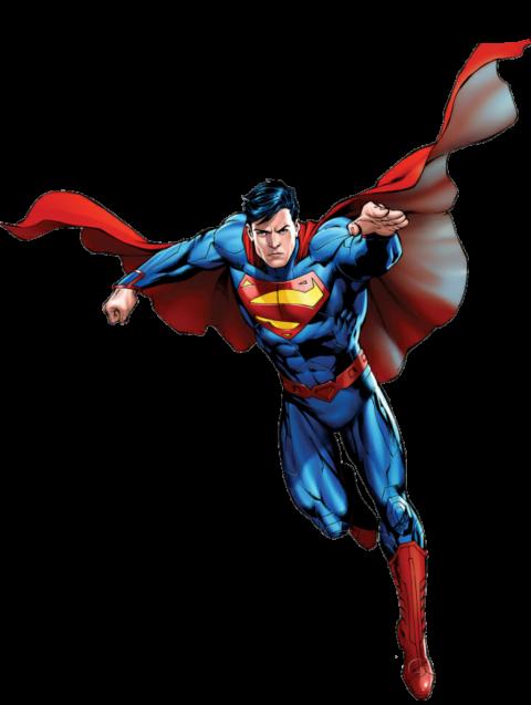 Superman Flying HD PNG Image