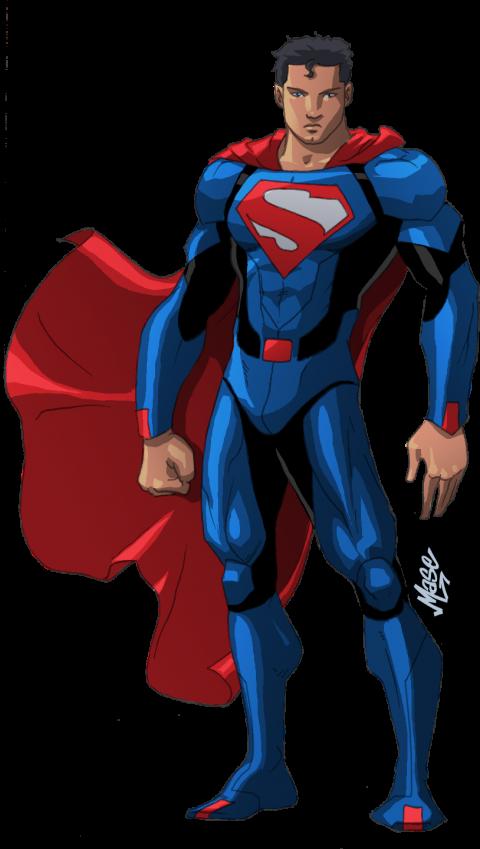 Superman full PNG Image - Tr