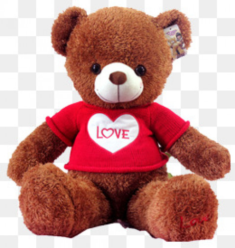 Brown Teddy Bear PNG Image -