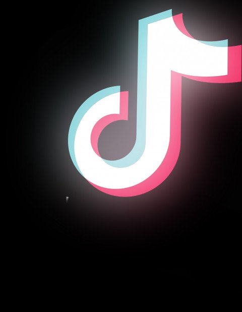 TikTok Neon Effect PNG Trans