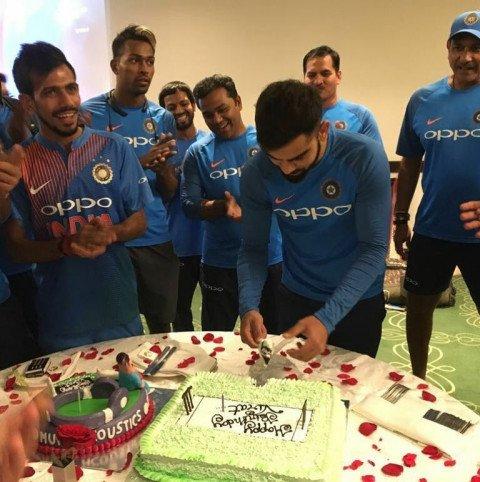 Virat Kohli Birthday Celebra