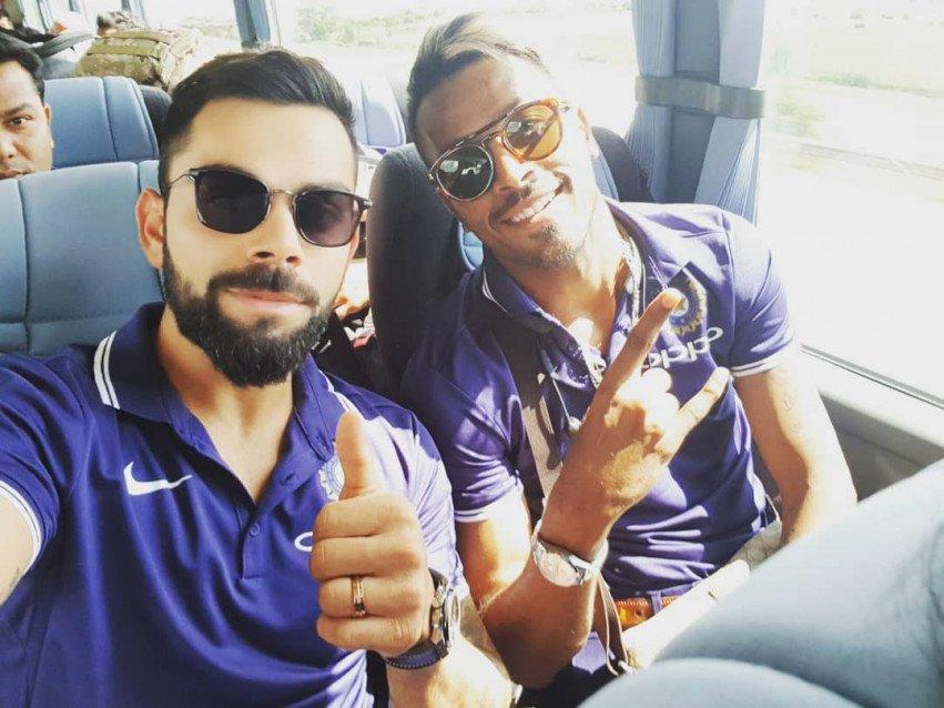 Virat Kohli Selfie with Hard
