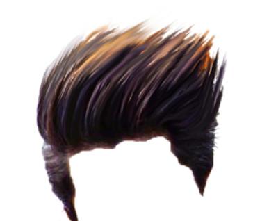 CB Brown Hair PNG - Editing