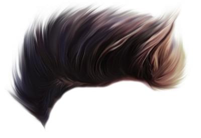 CB Stylish Hair PNG - Editin