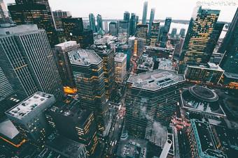 Advanced tech city Backgroun