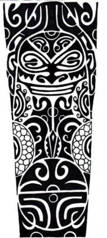 Full Hand Arm Tattoo Design