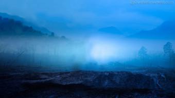 Blue CB Background Photoshop