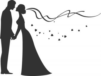 Wedding Love Couple Clipart