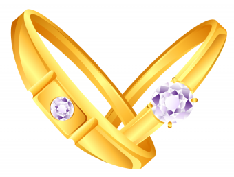 Wedding Ring Clipart PNG HD