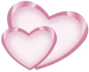 Coupl Heart PNG -happy Valen