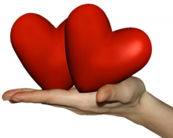 Two Heart PNG -happy Valenti