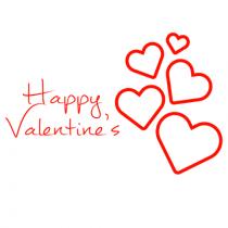 Happy Valentines Day Text PN