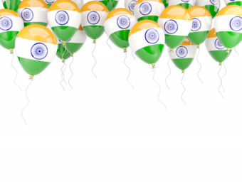 baloon tiranga Indian Flag P