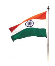 flag tricolor Indian Flag PN
