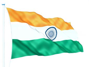 Hindustani tiranga Indian Fl