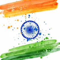 proper Indian Flag PNG Trans