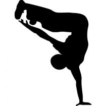 Dancer dancing shadow Stunt