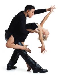Dancer dance couple Png Tran