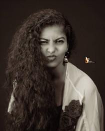 Indian Girl Pose Model photo