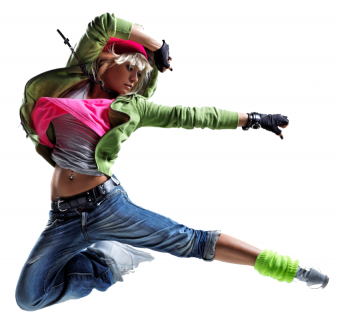 Dancing GIrl PNG HD Stylish