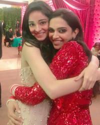 Ananya Pandey with Deepika P