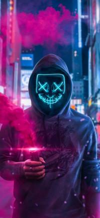 Anonymous Mask Man Wallpaper