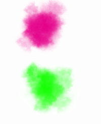 Color Abir Rang PNG in Holi