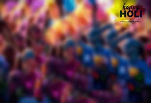 Happy Holi CB Background Ful