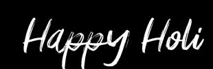 Happy Holi Text PNG Holi Hai