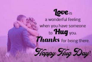 Happy Hug Day - Romantic Lov