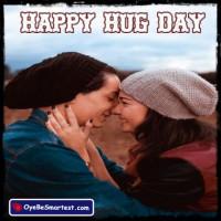 Happy Hug Day for Friend - W