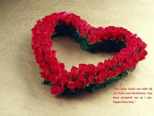 Happy Rose Day Wish Card Pho