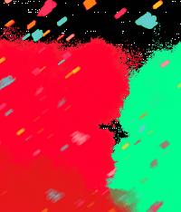 Holi Rang Red Color Splash P