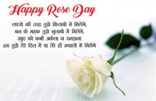 Happy Rose Day Shayari Quote