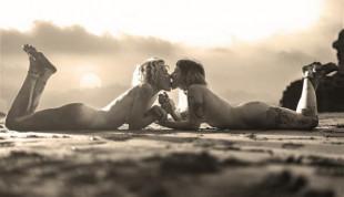 Cute Kiss HD Wallpaper - Bea