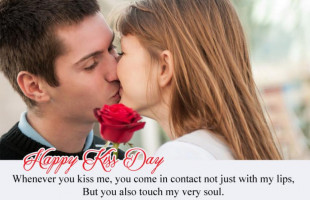 Happy Kiss Day Quotes Cute P