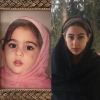 Cute Sara Ali Khan childhood