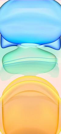 Mint-Light iPhone 11 Wallpap
