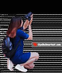 Photography of a Girl kneeli