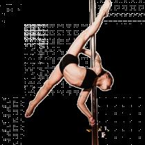 Pole Dance Lady PNG  (70)