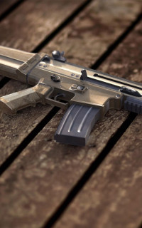 PUBG Weapons Mobile Wallpape