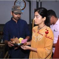 Cute Rashmika Mandanna Expre