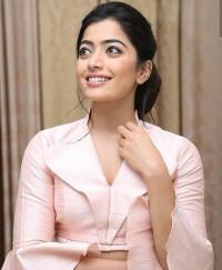 Rashmika Mandanna Smile Face