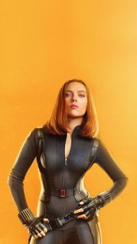 Scarlett Johansson in Black