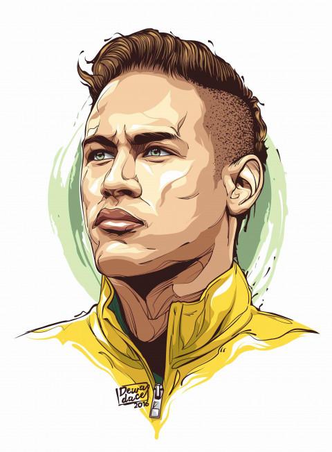 Neymar cartoon wallpapers Ph