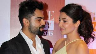 Virat Kohli with Anushka Sha