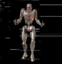 Terminator Body PNG Image  (