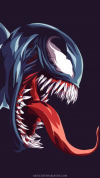 Venom Amoled Wallpaper Full
