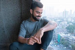 Virat Kohli Laughing Wallpap